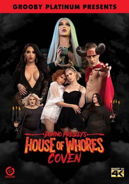 Domino Presley, Alisia Rae, Ella Hollywood, Nathalie Presley, Jane Marie - Domino Presley's House Of Whores - Coven (Split Scene) (Grooby.com/FullHD/2019)
