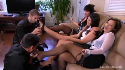 Clubstiletto – The Office Job Competition – Miss Jasmine, Mistress Kandy, Mistress Meana Wolf