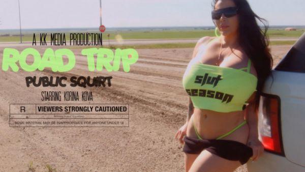 Korina Kova - Road Trip Pt 2: Squirt fest (30.06.2019) [FullHD 1080p] (M@nyVids)