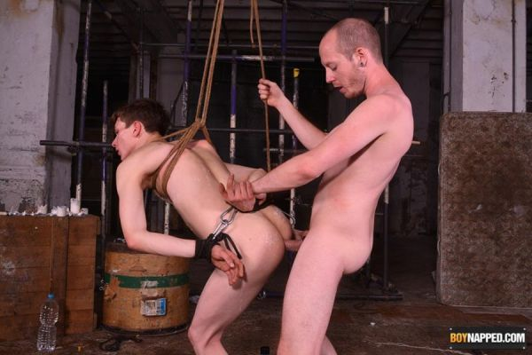 BoyNapped - Sean Taylor & Alex Faux - Twinky Plaything Properly Used - Part 2
