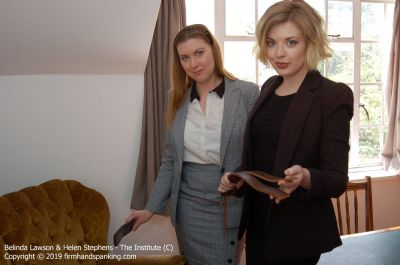 FirmHandSpanking – Belinda Lawson & Helen Stephens – Candid Confessions – AA