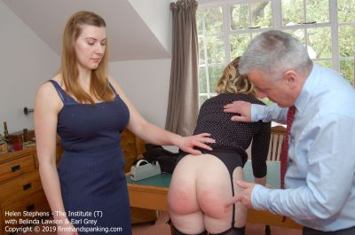 FirmHandSpanking – Helen Stephens – The Institute – T