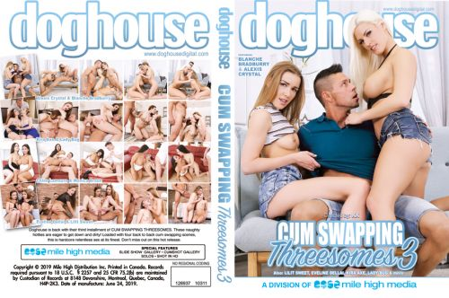 Cum Swapping Threesomes 3 (2019) WEBRip / SD / *MKV*