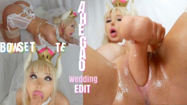 M@nyVids - amandatoy - Bowsette a Horny Bride AHEGAO [FullHD 1080p]