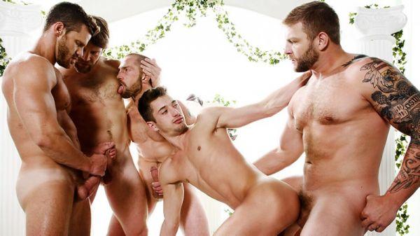 MN - Sex Traveler Part3 - Colby Keller, Colby Jansen, Landon Conrad, JD Phoenix & Adam Herst