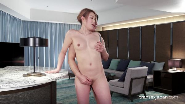 TransexJapan - Rui Matsushita - Cock Teasing and Forced Orgasm (24.05.2019) [FullHD 1080p]