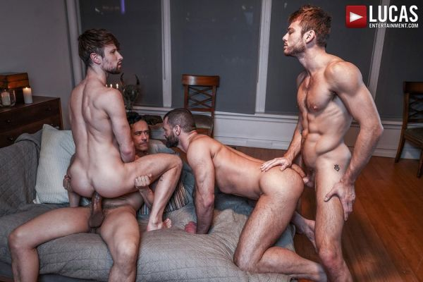 LE - Late-Night Meeting  - Rafael Alencar, Drew Dixon, Max Adonis & Jake Morgan