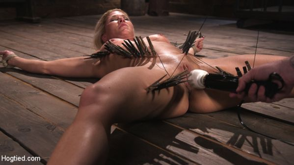 Ariel - Ariel X is Tormented in Brutal Bondage and Double Penetrated (HD 720p) Cover