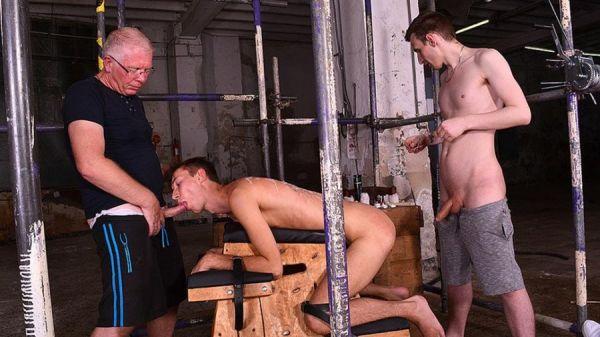 BoyNapped - Reece Bentley, Sebastian Kane, Jay Mcdally - Making The New Boy Greedy For Cum Part 2