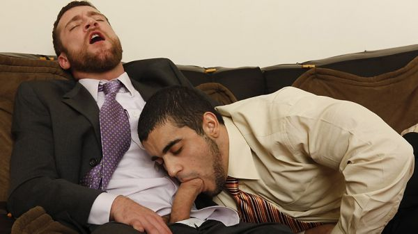 MN - The Gay Office - Staying Late - Trevor Knight & Angelo Antonio