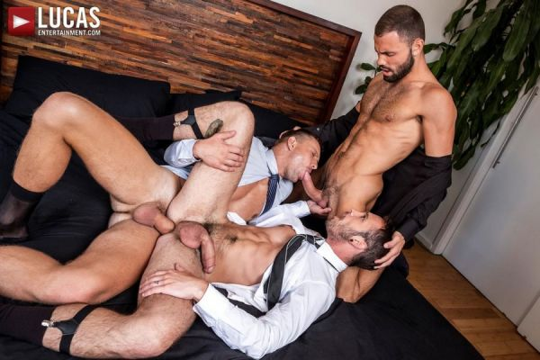 LE - Andrey Vic, Drake Rogers and Jeffrey Lloyd