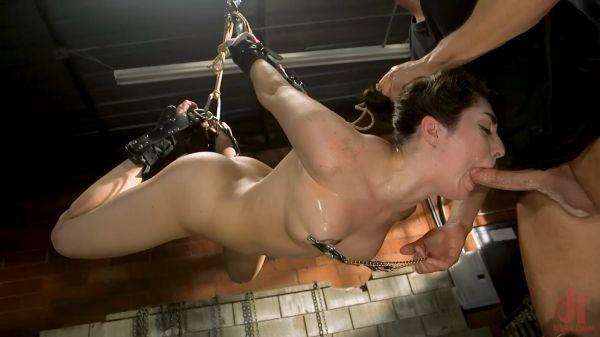 Keira Croft - All Natural Pain Pig Keira Croft Squirts in Rope Bondage