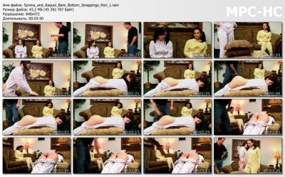 RealSpankings - Syrena and Raquel: Bare Bottom Strappings (Part 1)