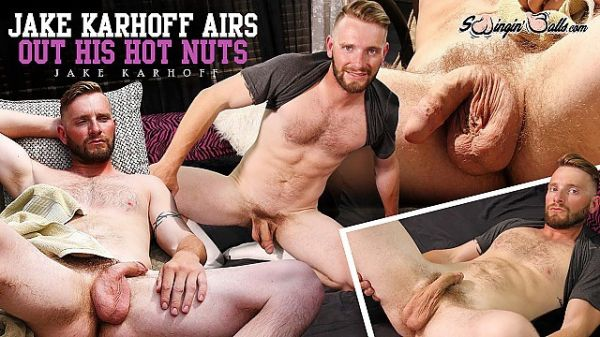 SwinginBalls - Jake Karhoff Airs Out His Hot Nuts