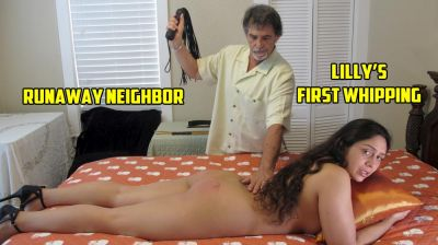 DallasSpanksHard - Lilly's First Whipping - Runaway Neighbor 2