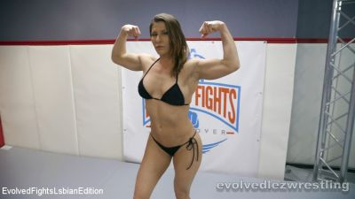 Ariel X, Brunette, Erotic wrestling, Evolved Fights Lesbian Edition, EvolvedFightsLesbianEdition, Facesitting, Feet, Lesbian, MILF, natural boobs, Shaved, Slim, Sofie Marie, Straight, thirdparty, white