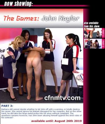 CfnmTV – The Games: John Naylor Part 3