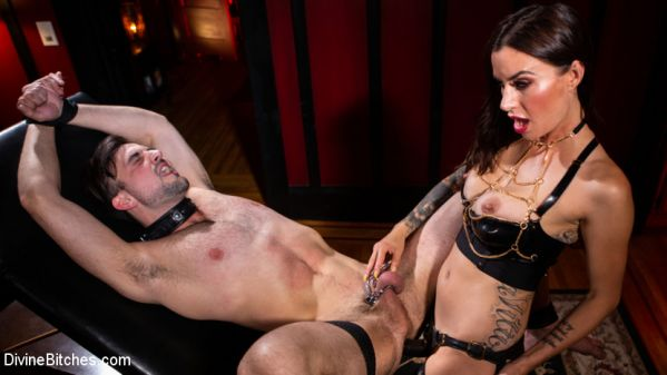 DivineBitches - Gia DiMarco - The House Slave: Gia DiMarco Brings Mason Lear Out to Play (16.07.2019) [HD 720p]