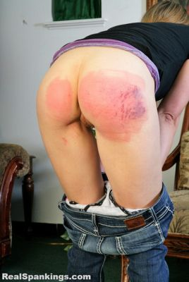RealSpankings – Monica's Whoopin (Part 2 of 2)