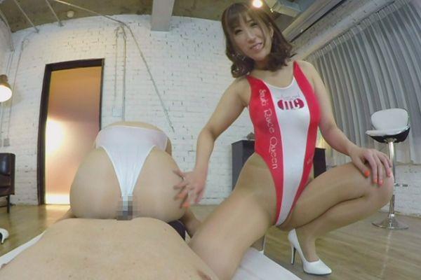 High Leg Race Queen Threesome - Smartphone