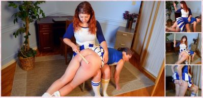 SpankingSororityGirls – Episode 203: Rachel Spanked For Tattling