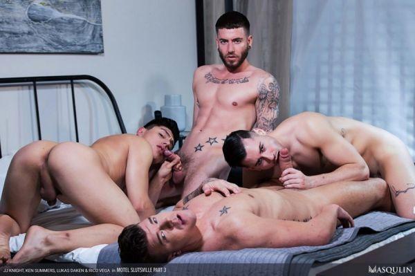 MQ - Motel Slutsville Part 3 - JJ Knight, Ken Summers, Lukas Daken, Rico Vega