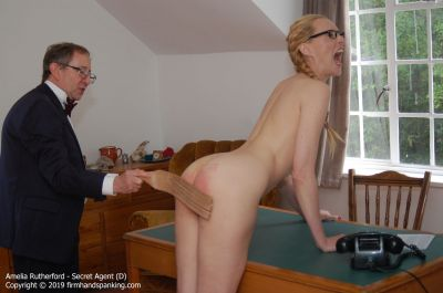 FirmHandSpanking – Secret Agent – D – Amelia Rutherford