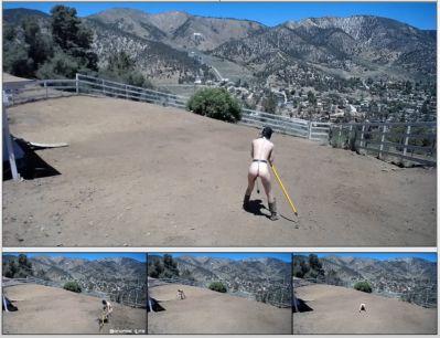 Bondage Life – Yard Maintenance (Dirt Edition) – Rachel Greyhound