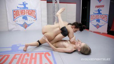 EvolvedFightsLesbianEdition – Gabriella Paltrova vs Kyaa Chimera