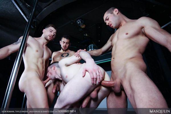 MQ - Dante Colle, Igor Romani, Jack Kross, Thyle Knoxx - Fuckerbate Part 4