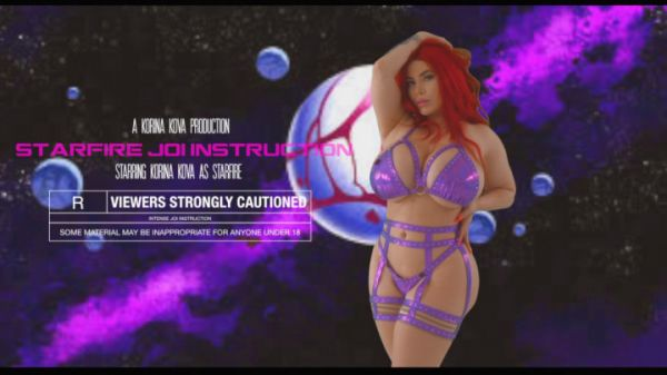 Big Boobs: K0rina K0va - Starfire JOI Instructions (13.07.2019) (FullHD/2019)