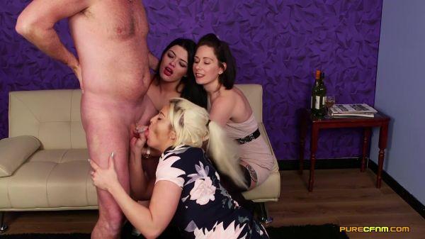 PureCFNM - Belle O'Hara, Kelly Cummins, Sapphire Rose - Boob Slip  (16.08.2019) [FullHD 1080p]