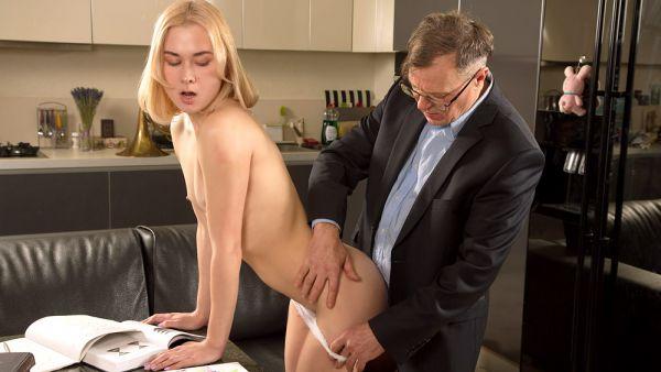 Via Lasciva - Old teacher treats her sexy student properly