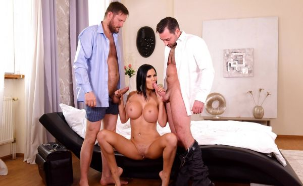 Milf Thanks Doc With Threesome 4k