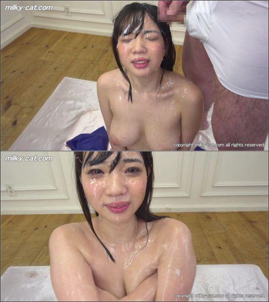 Miyu Saitoh - Bukkake Titty Babe Miyu Saitoh #4 [HD 720p] (Milkycat)