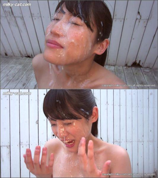 Milkycat - Sakura Niimi - Bukkake Encountered Sakura Niimi #2 [HD 720p]