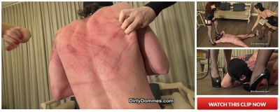 DirtyDommes – No mercy sadistic whipping part 2