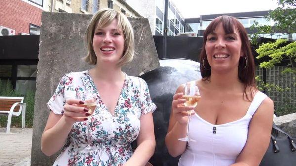 Milena, Angelique - Milena, 28ans, et Angelique trinquent au champagne (20.08.2019) [FullHD 1080p] (JacquieetMichelTV)