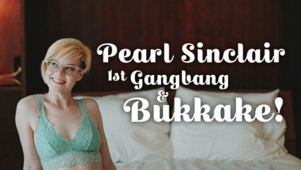TexxxasBukkake - Pearl's 1st Gangbang and Bukkake (22.08.2019) [FullHD 1080p] (Bukkake)
