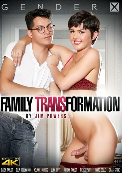 Ella Hollywood, Daisy Taylor, Luna Lovely, Melanie Brooks - Family Transformation (20.08.2019) [FullHD 1080p] (Gender X)