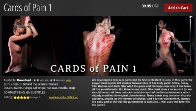 ElitePain – Cards of Pain 1