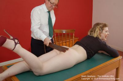 FirmHandSpanking – Helen Stephens – The Institute – ZH