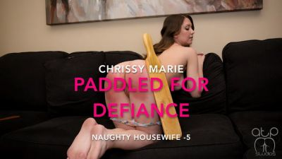 Paddled for Defiance – Naughty Housewife – 5