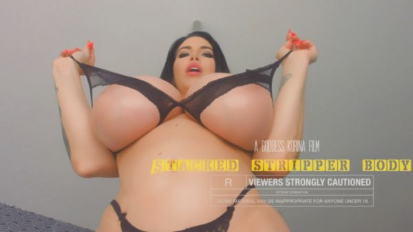 K0rina K0va - Stacked Stripper Body Domination (05.08.2019) [FullHD 1080p] (Big Tits)