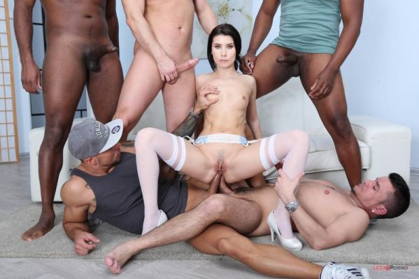 Nicole Black - Nicole Black is Indestructible 1 She tests her limits with 10 guys two DAP sessions GIO1097 [HD 720p] (LegalP0rno)