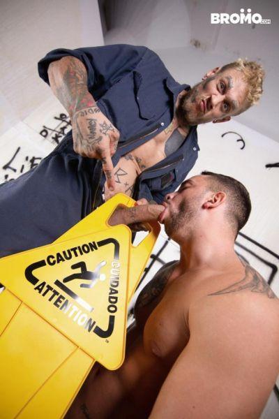 BRM - Bo Sinn & Tony Carusso - Urinal Fuck