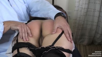Worstbehaviorproductions - Sophia Spanked Too - Spanking, Paddling and the Belt Part One