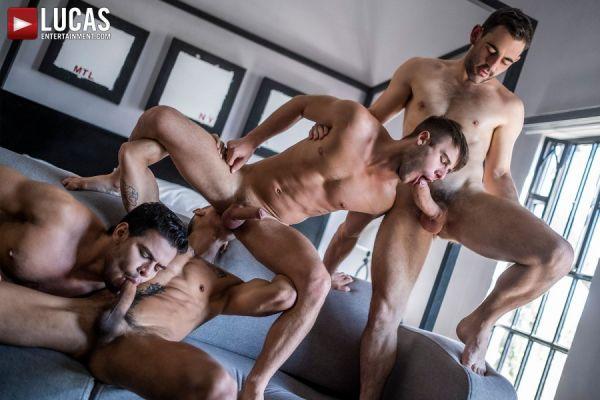 LE - Max Arion, Allen King, Rico Marlon, Max Avila - Four-Way Breeding
