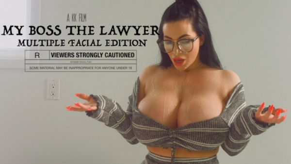 GoddessK0rinaK0va - My Boss The Lawyer: Multiple Facials (12.08.2019) [FullHD 1080p] (Big Ass)