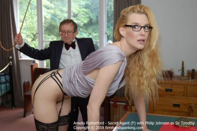 FirmHandSpanking – Amelia Rutherford – Secret Agent – F